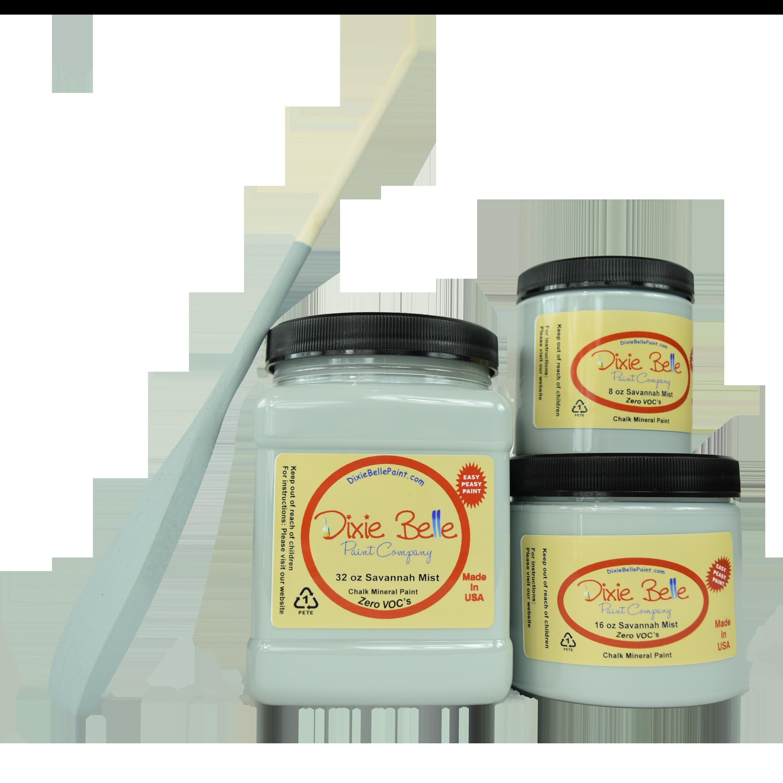Dixie Belle Chalk Mineral Paint - Savannah Mist | www.raggedy-bits.com | #raggedybits #DIY #paint #dixiebelle #SavannahMist