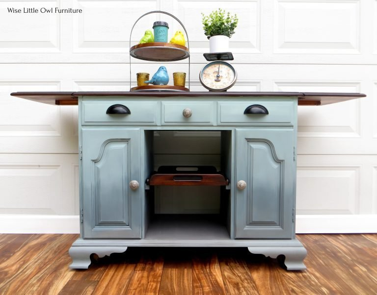 Ombre Blended Buffet which is a feature for Waste Not Wednesday-218 by Wise Little Owl Furniture   www.raggedy-bits.com