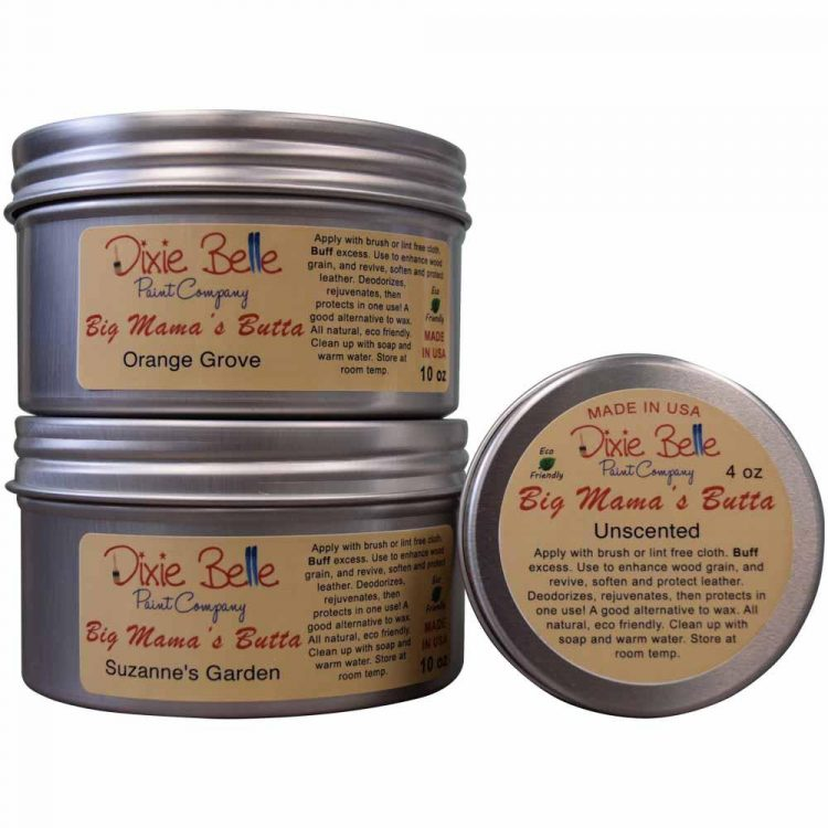 Dixie Belle Chalk Mineral Paint - Big Mama's Butta | www.raggedy-bits.com | #raggedybits #DIY #paint #dixiebelle #bigmamasbutta