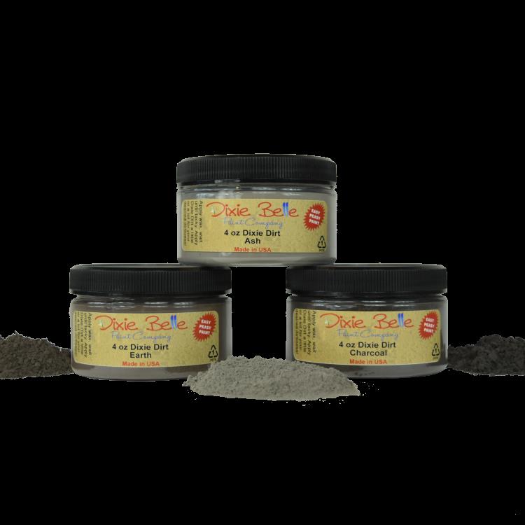 Dixie Belle Chalk Mineral Paint - Dixie Dirt   www.raggedy-bits.com   #raggedybits #DIY #paint #dixiebelle #DixieDirt