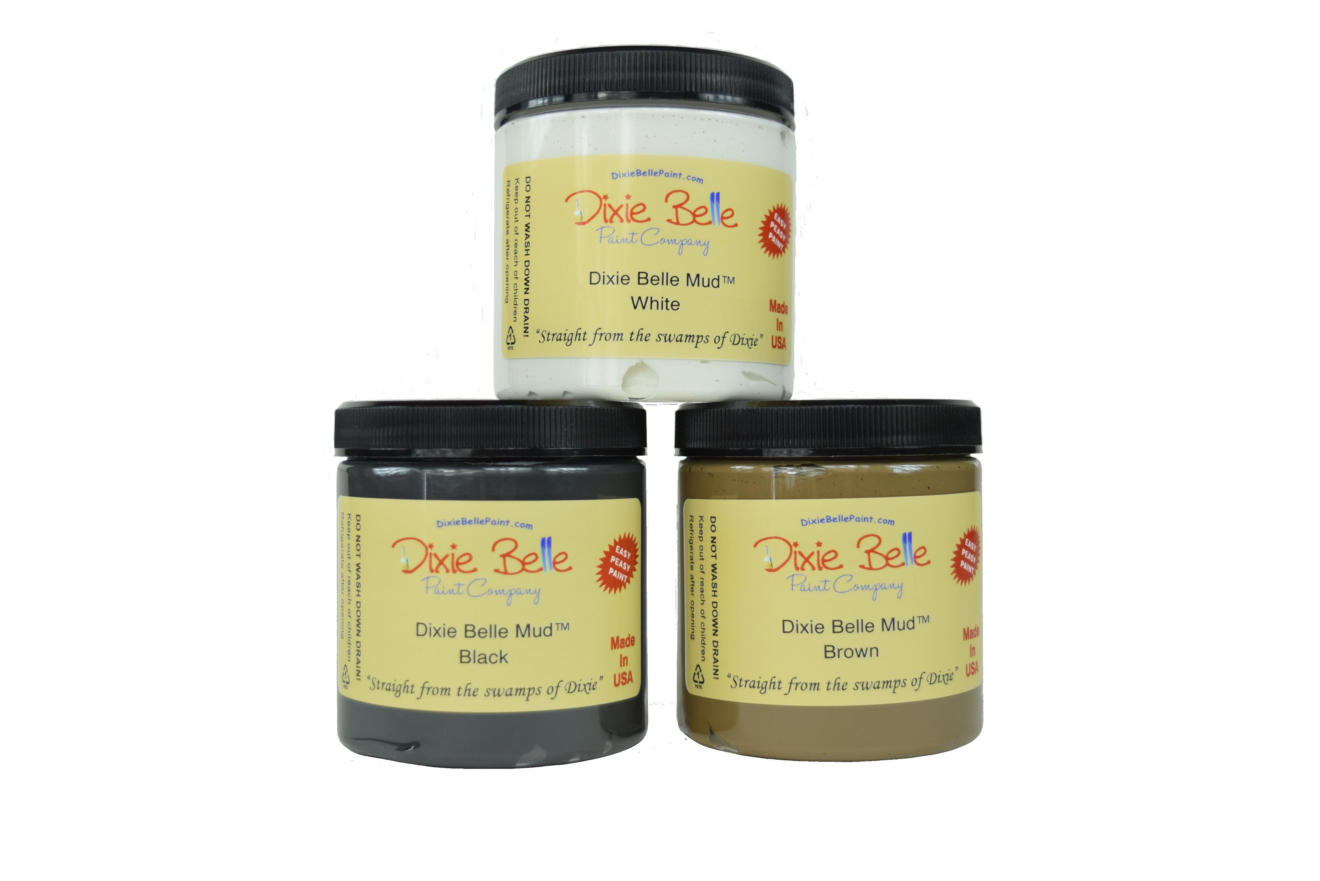 Dixie Belle Chalk Mineral Paint - Dixie Belle Mud | www.raggedy-bits.com | #raggedybits #DIY #paint #dixiebelle #Mud