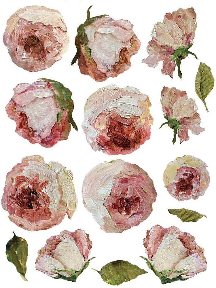 Have fun adding texture to your projects with these Iron Orchid Designs Decor Transfers - Painterly Florals | www.raggedy-bits.com | #raggedybits #IOD #PainterlyFlorals #texture