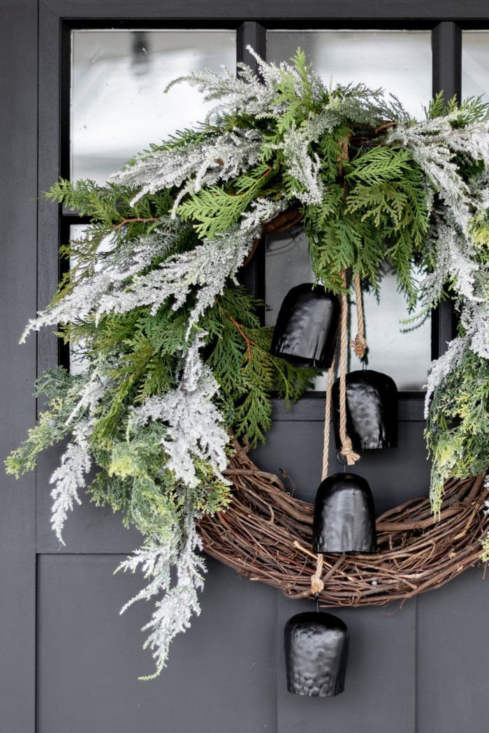 How to create a Stunning Organic Wreath which is a feature for Waste Not Wednesday-230 by Cherished Bliss | www.raggedy-bits.com