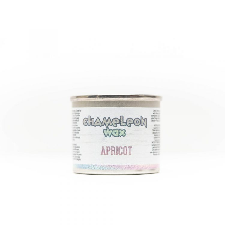 Dixie Belle - Chameleon Wax - Apricot | #raggedybits #DIY #paint #dixiebelle # #chameleonwax #apricot