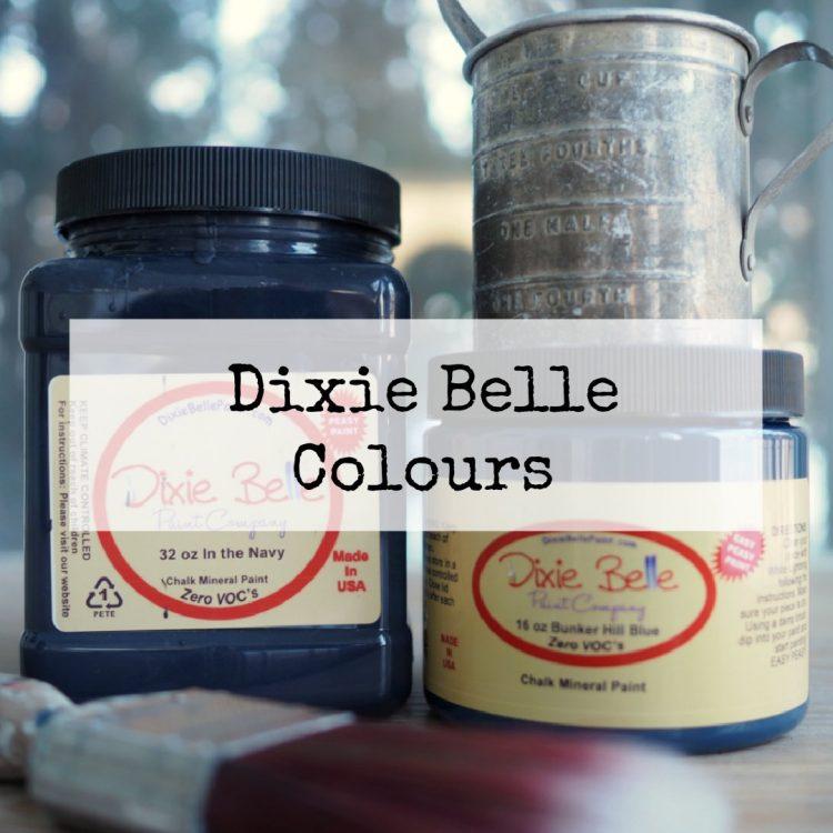 Dixie Belle Colours