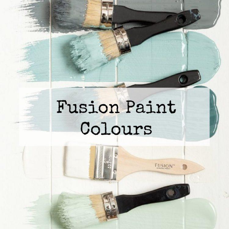 Fusion Paint Colours