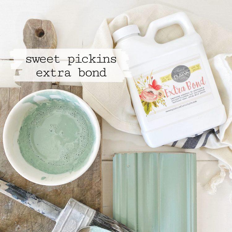 Sweet Pickins Milk Paint - Extra Bond | www.raggedy-bits.com