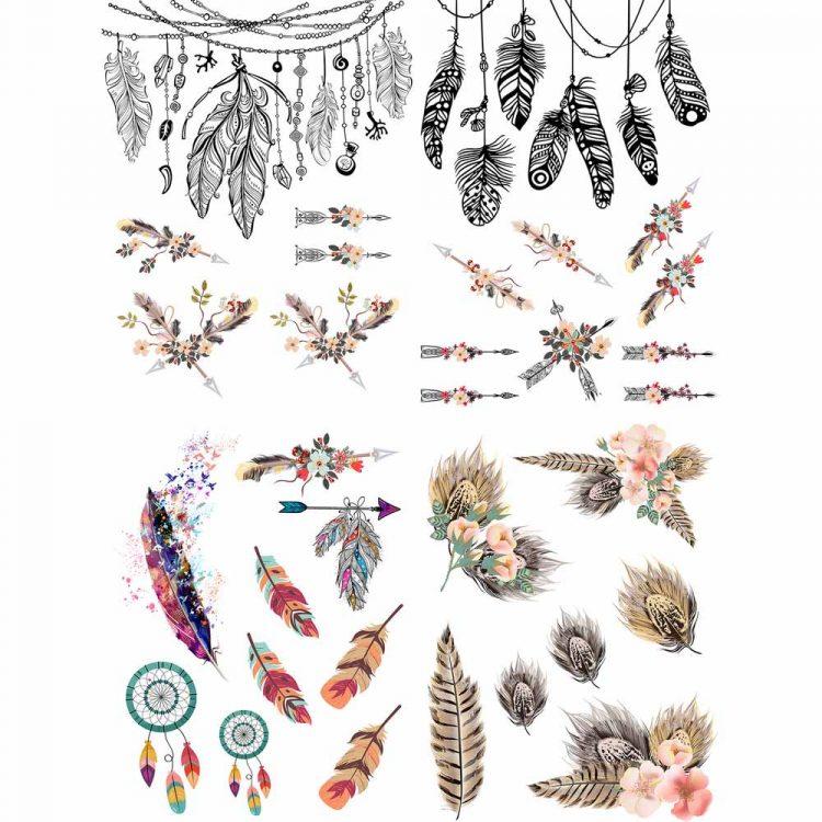 Belles & Whistles Decor Transfer - Boho Soul | www.raggedy-bitgs.com | #raggedybits #decortransfer #DIY #Belles&Whistles #BohoSoul