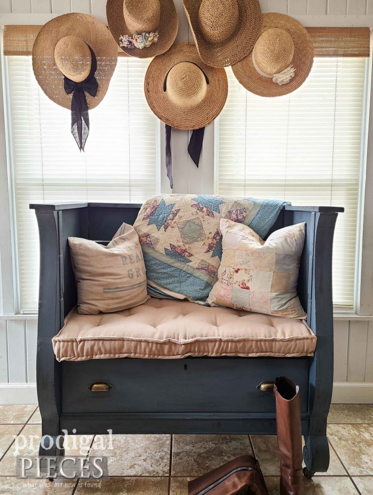 Antique Empire Chest Upcycle - Prodigal Pieces  | www.raggedy-bits.com | #raggedybits #diy #antique #breadboard #farmhouse #vintage #repurpose #upcycle #prodigalpieces