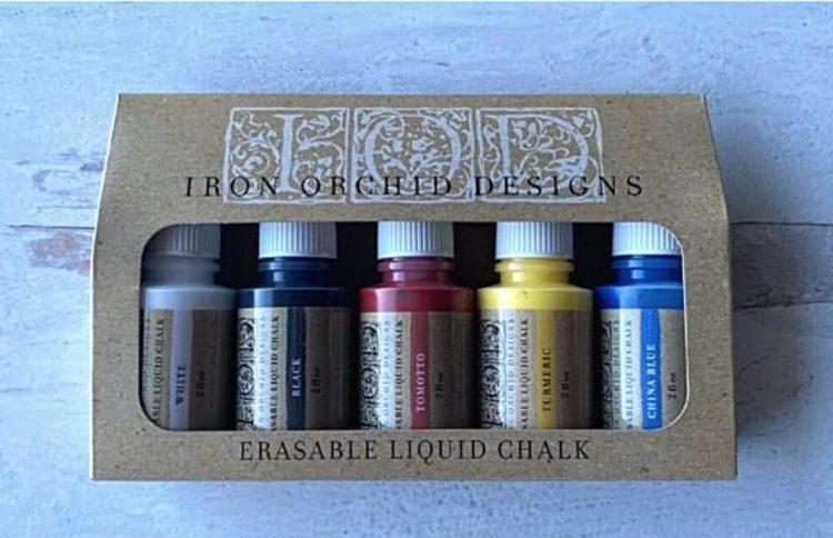Iron Orchid Designs - Erasable Liquid Chalk Set | www.raggedy-bits.com