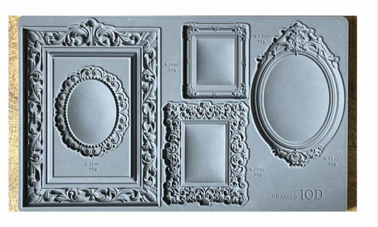IOD Decor Mould - Frames | www.raggedy-bits.com